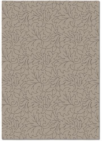 tapis alp_ feuille beige
