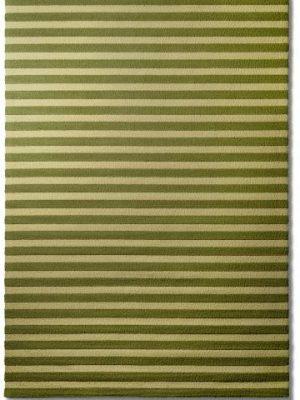tapis alp_ raye vert