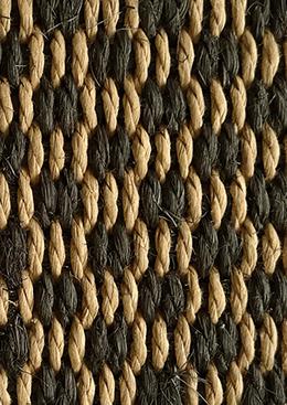 sisal noir beige