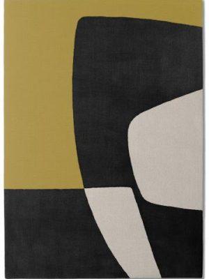 tapis alp_ salon jaune noir