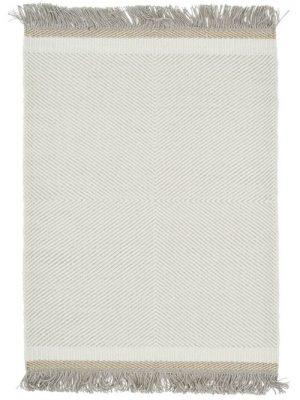 tapis linie design blanc