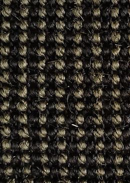 Sisal gris noir
