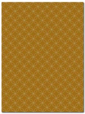 tapis alp_ jaune geometric