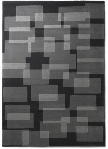 tapis alp_ carre geometrique fonce