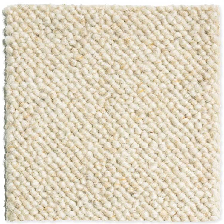 moquette laine blanche
