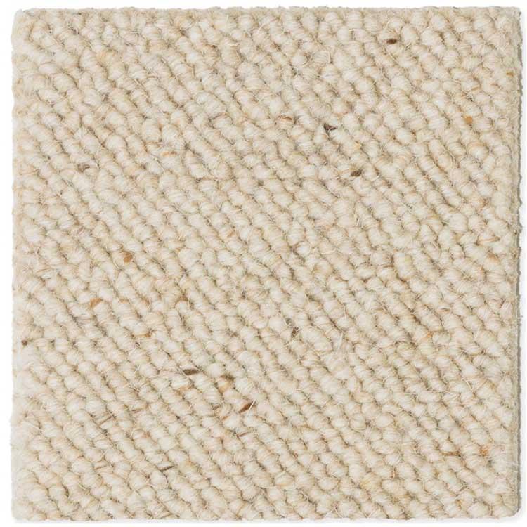 moquette bouclée laine beige