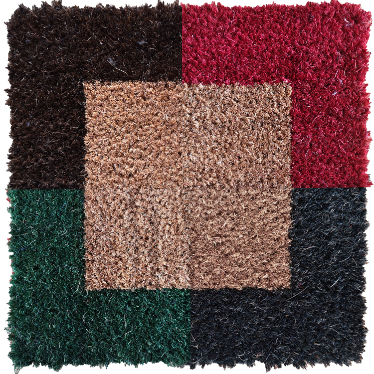 coloris tapis brosse