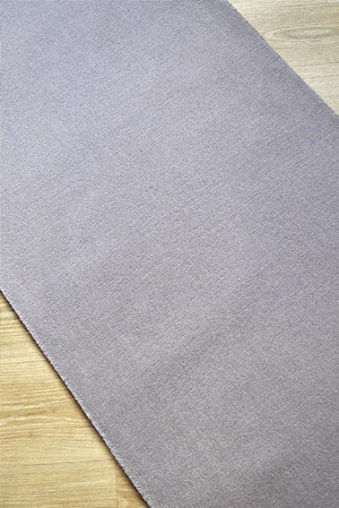 Tapis déstockage uni gris clair