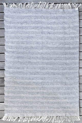 tapis d'intérieur gris tissé main