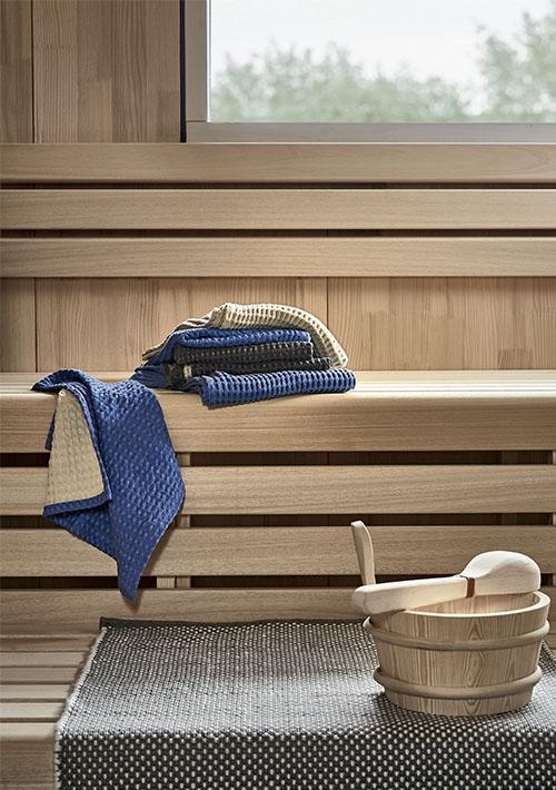 tapis dans un sauna