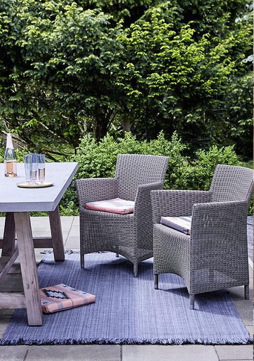 tapis de salon de jardin