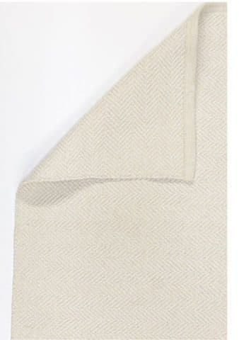 tapis à chevrons beige